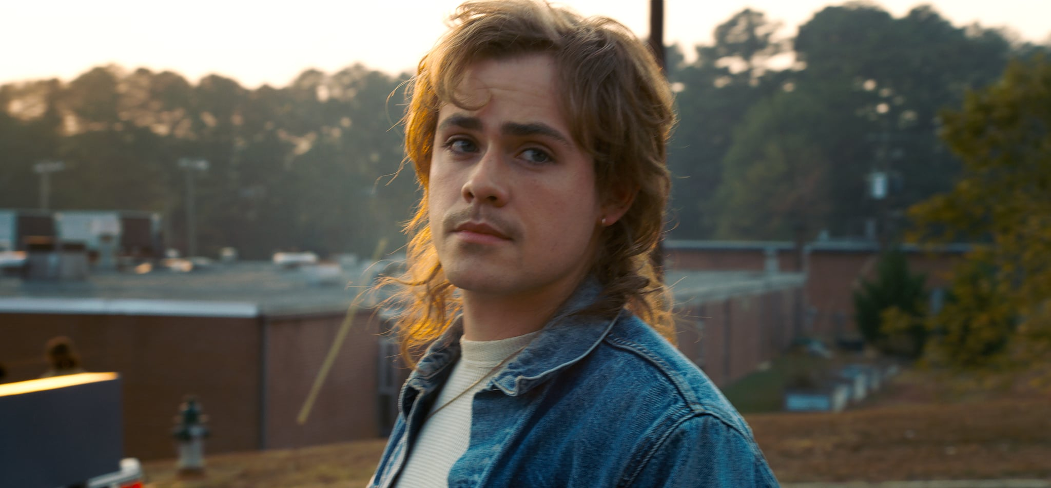 Is Billys Mullet Real On Stranger Things Popsugar Entertainment