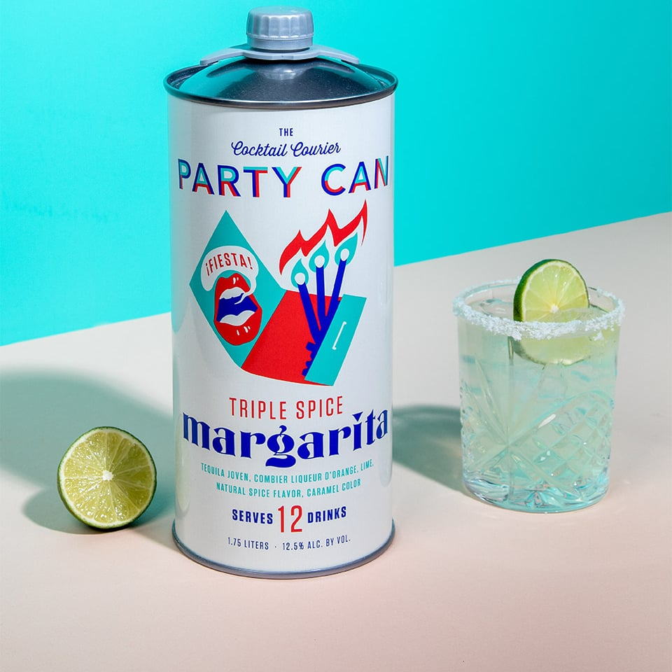 This Party Can Holds 12 Full-Sized Margaritas