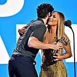 Shawn Mendes and Jennifer Lopez