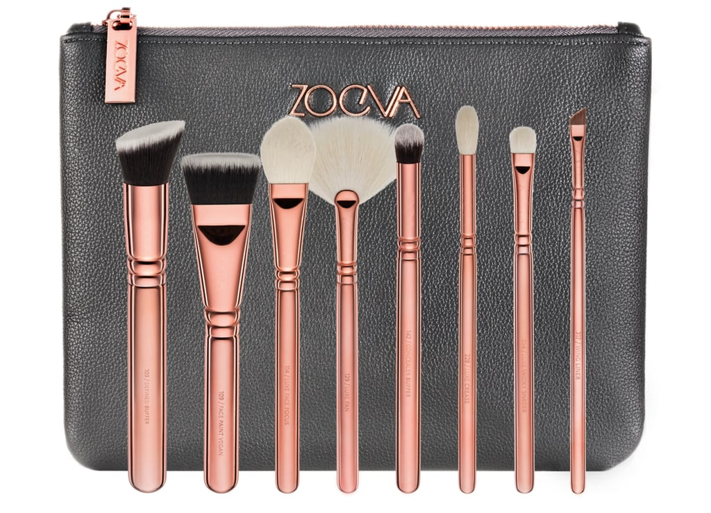 """Zoeva Cosmetics has been one of those brands I've fallen in love with recently! Rose Gold is so hot right now, and their Rose Gold brushes have totally won me over. I think this is definitely an awesome gift to give any makeup connoisseur! Who wouldn't want these gorgeous brushes to add to their collection?!""   Zoeva Rose Gold Brush Set  ($69)"