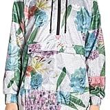 Adidas Floral Windbreaker Jacket