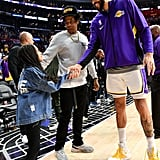 Blue Ivy Wore Fendi Boots to the Lakers Game With JAY-Z