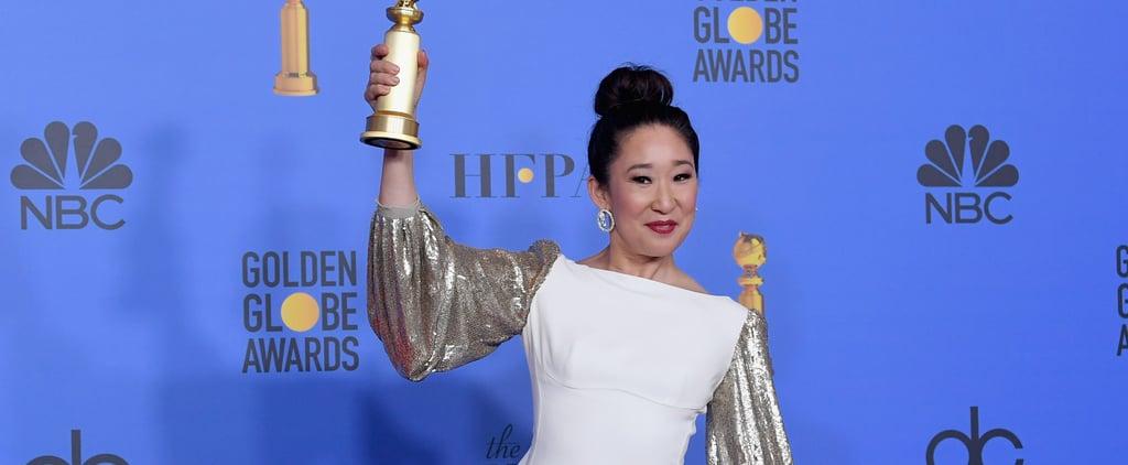 Grey's Anatomy Cast Reaction to Sandra Oh's Golden Globe Win