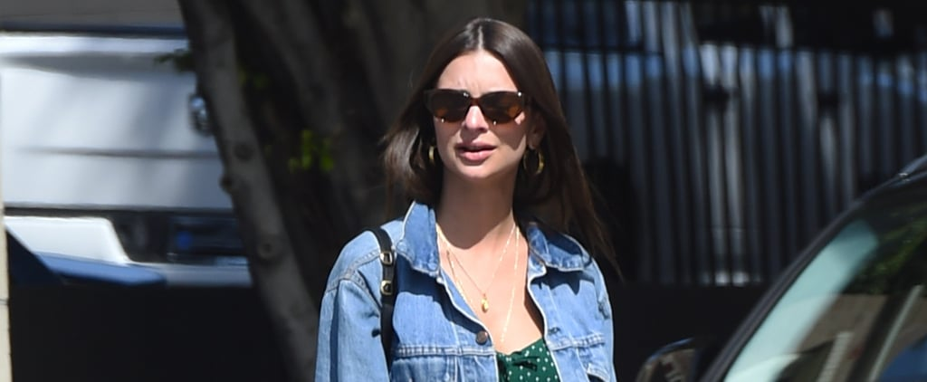Emily Ratajkowski's Cute Springtime Dress Costs $218 — Your Credit Card Already Approves