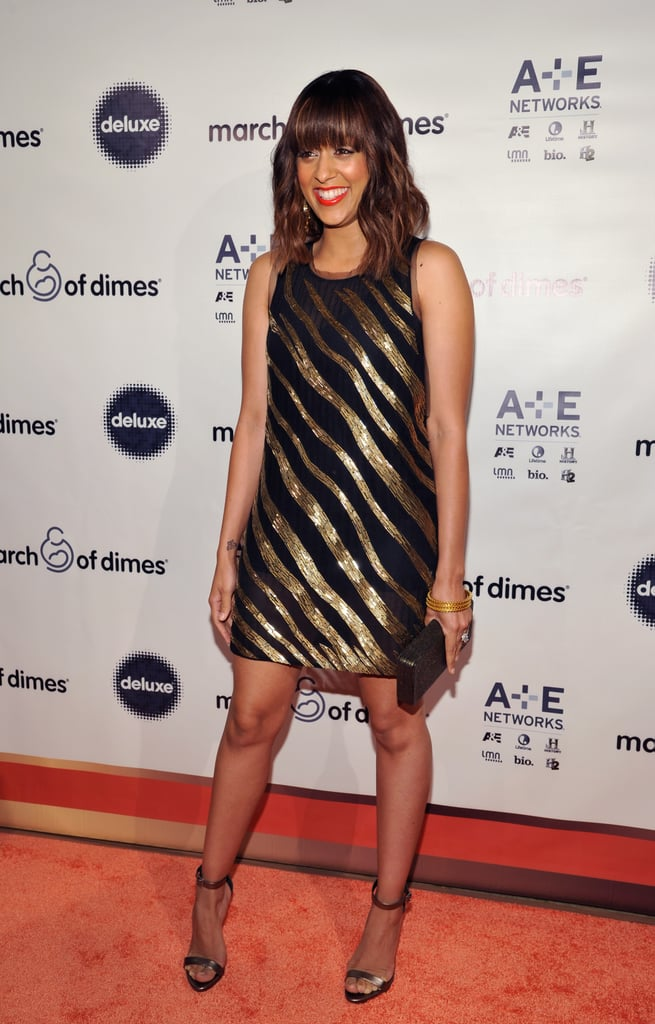 Tia Mowry glammed up for the March of Dimes luncheon.