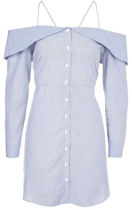 A feminine shirt dress ($90) will quickly become one of your go-to pieces.