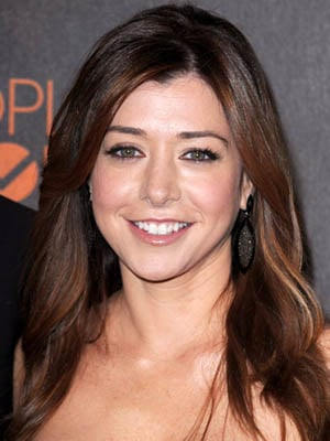 Alyson Hannigan at 2010 People's Choice Awards