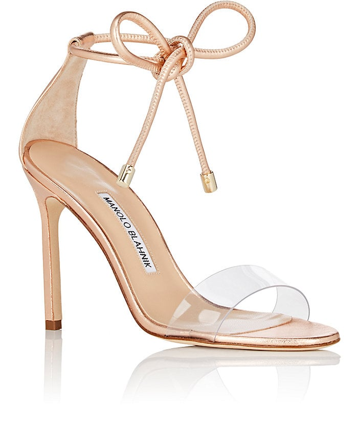 Manolo Blahnik Sequin Ankle-Strap Sandals cheap sale for cheap g6ePr