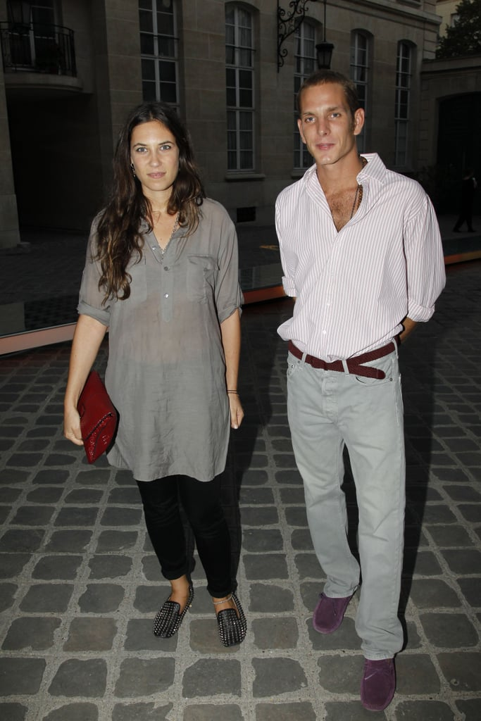In 2012, Andrea and Tatiana attended a Fashion Week party at the Italian embassy.