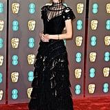 Stacy Martin at the 2019 BAFTA Awards