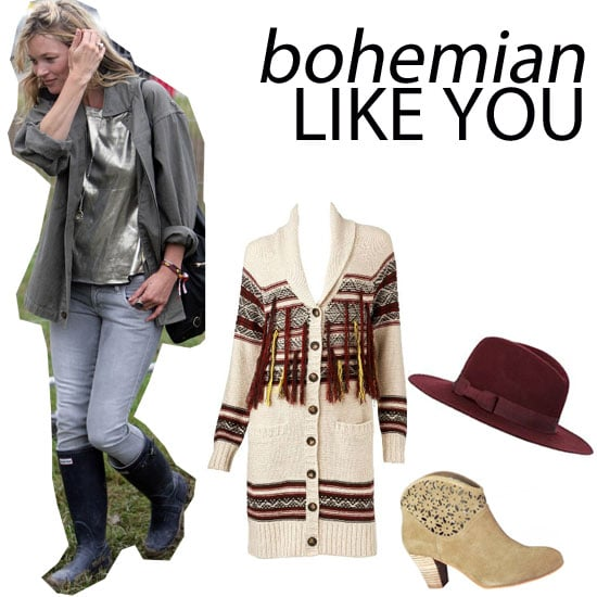 Like Kate Moss' Bohemian Style: Shop The Top Five Boho Buys from Sportsgirl, Wittner, French Connection & more!