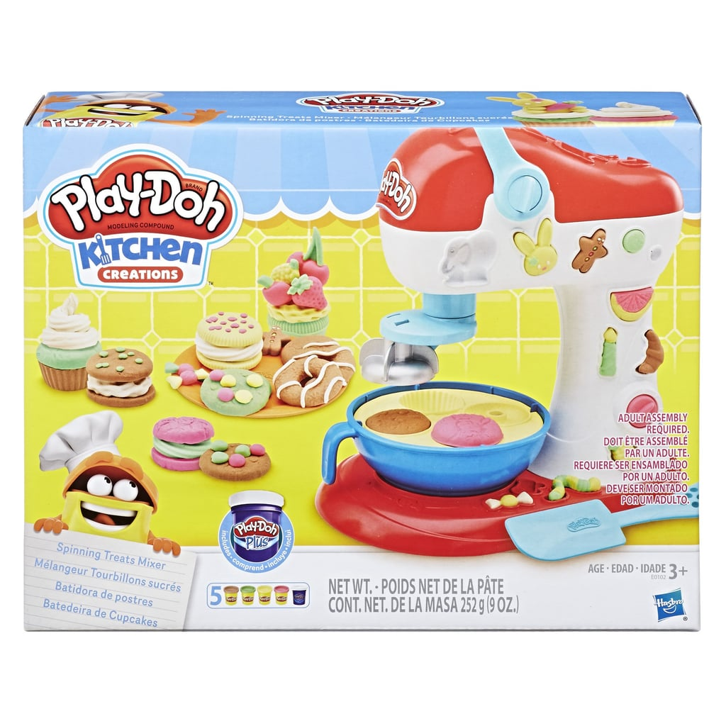 For 3-Year-Olds: Play-Doh Kitchen Creations Spinning Treats Mixer Food Set