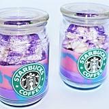 Starbucks Unicorn Frappuccino Candle — Large ($22)
