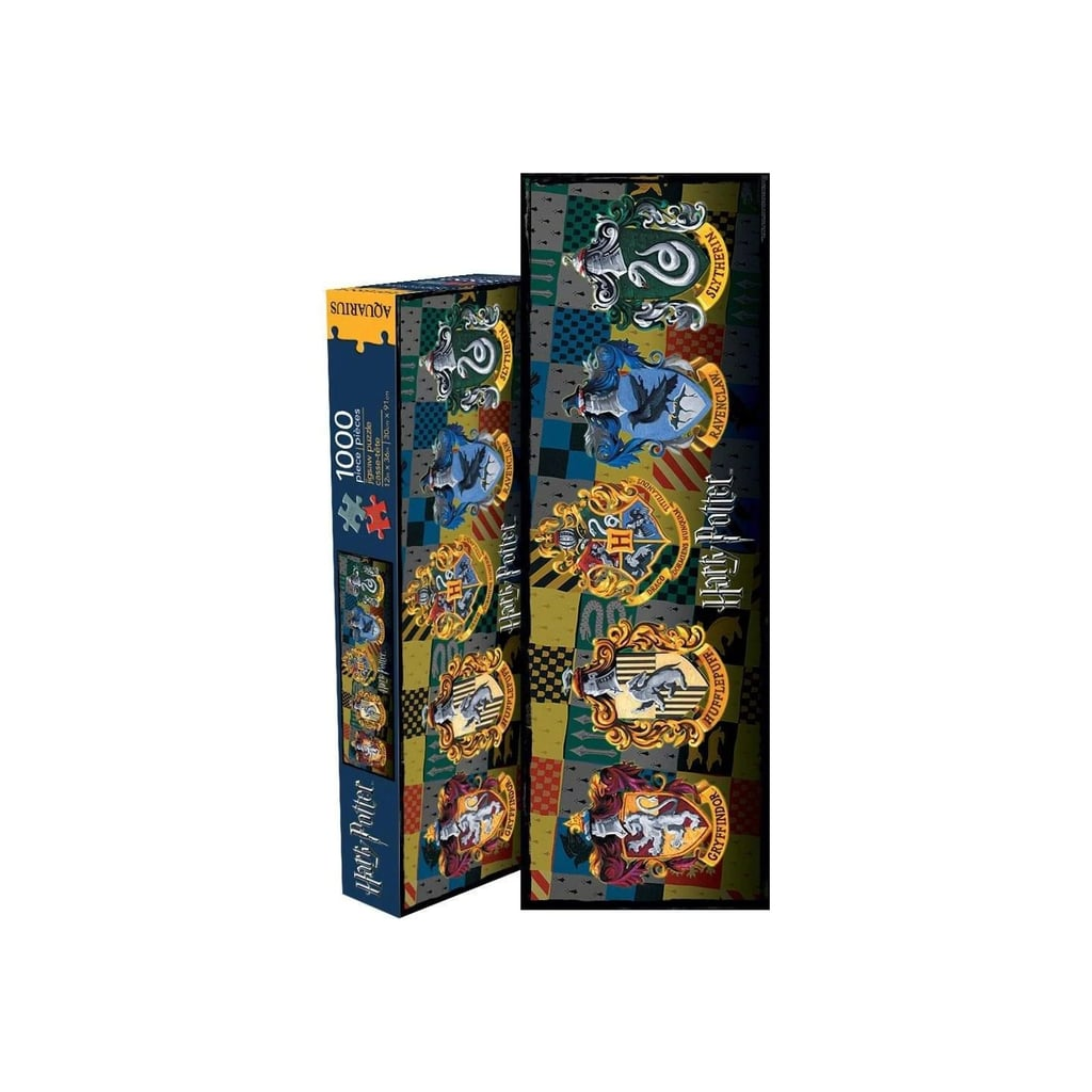 Harry Potter Crests Slim 1000-Piece Jigsaw Puzzle