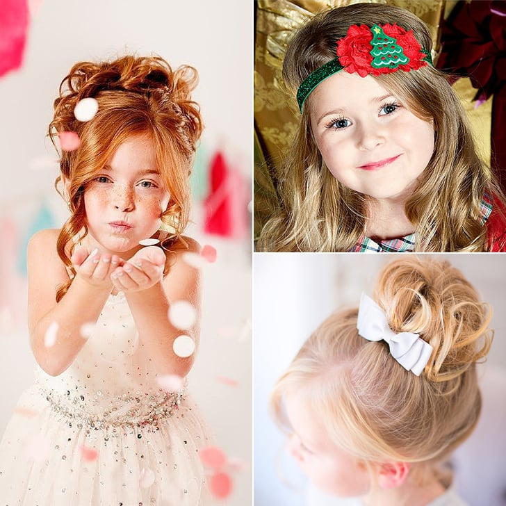 Holiday Hairstyle Ideas For Little Girls Popsugar Family