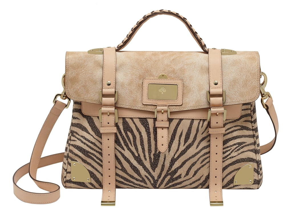 Oversized Travel Bag in Haircalf