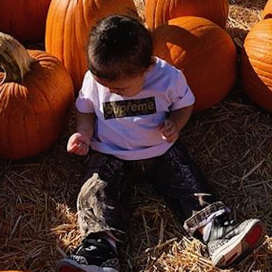 Kylie Jenner and Stormi at Pumpkin Patch Pictures 2018