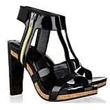 Accentuate your zip with these babies.  See by Chloé Patent-leather sandals (£265)