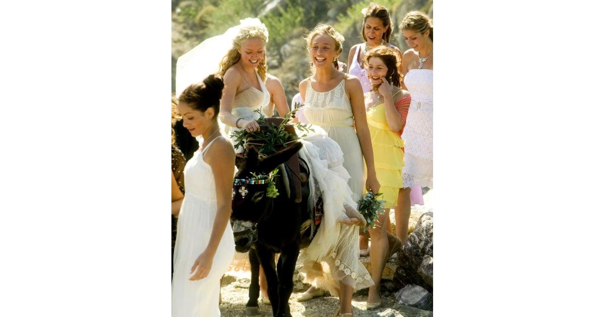 Amandas Wedding Dress As Sophie In Mamma Mia 2008 Amanda