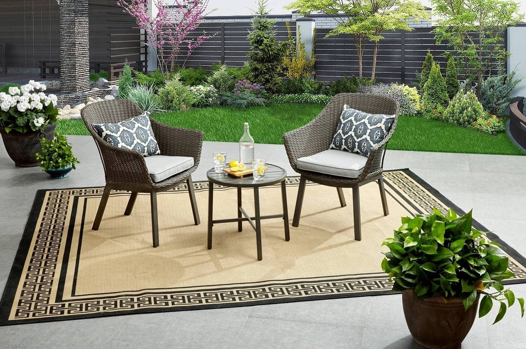 Better Homes & Gardens Cason Cove Contemporary 3 Piece Chat Set