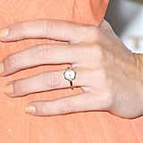 Miley's ring in 2012.