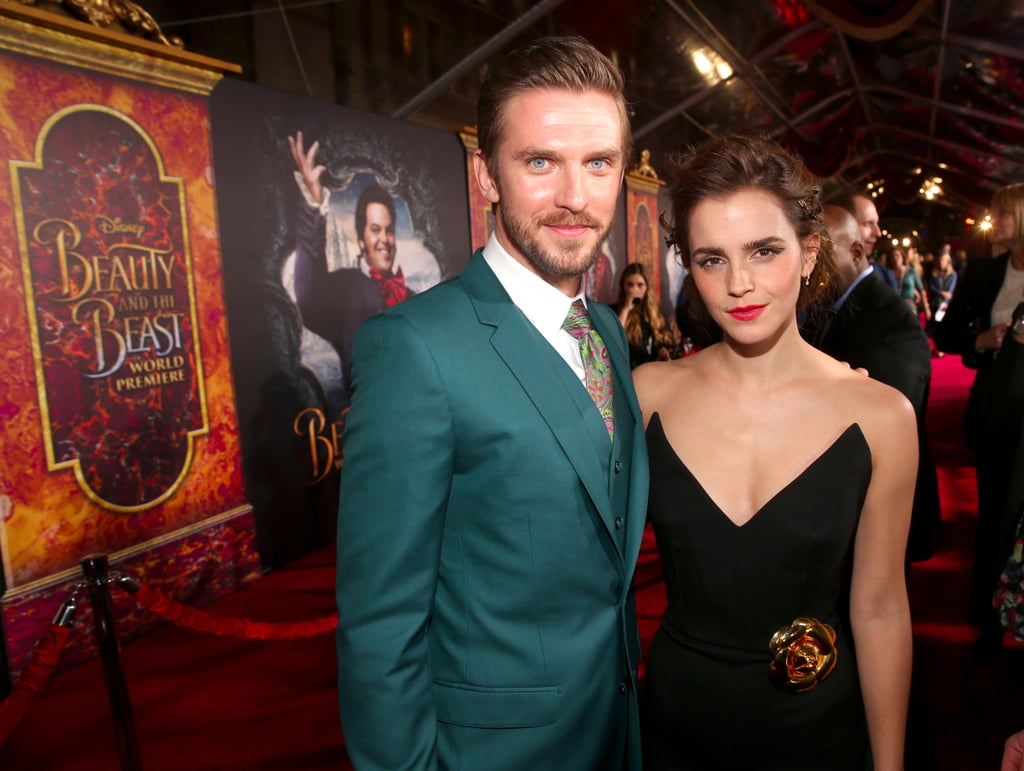 beauty and the beast hollywood premiere photos popsugar celebrity uk the cast of beauty and the beast bring their fairy tale to another red carpet