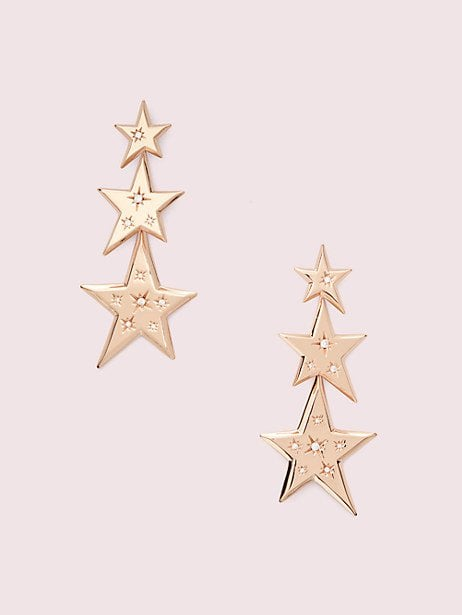 Star of the Show Statement Linear Earrings