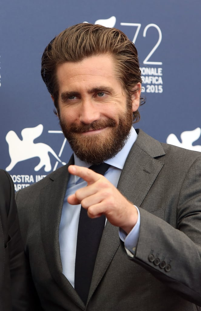 Jake Gyllenhaal Brings His Sexy Scruff to the Venice Film Festival