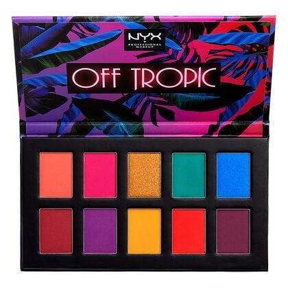 NYX's Off Tropic Eyeshadow Palette