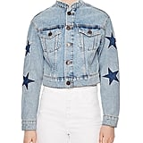 Sandro Liverpool Embellished Denim Jacket