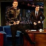 Justin Timberlake as Jimmy Fallon