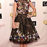 Marion Cotillard wore a floral dress to the Critics' Choice Awards.