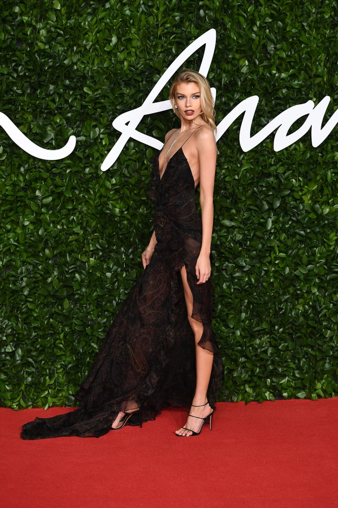Stella Maxwell at the British Fashion Awards 2019