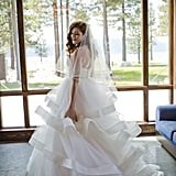 A Ballgown With Tiered Tulle