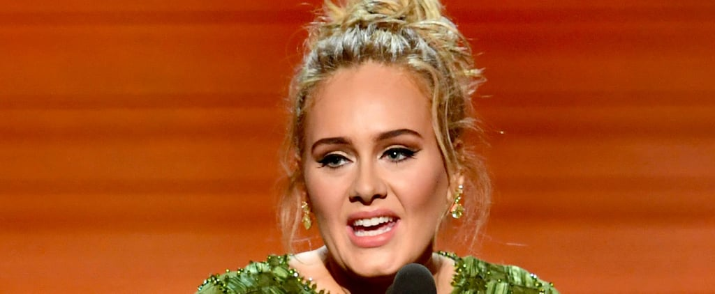 Adele Sweetly Mentioned Her Son While Accepting Her Grammy For Song of the Year
