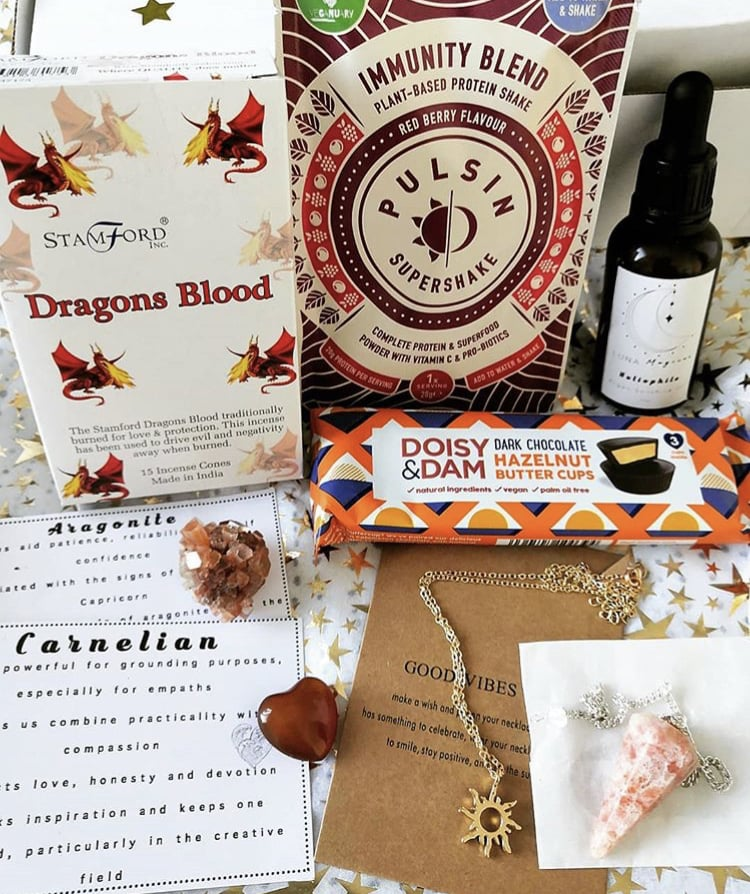 Trinket Treasurez Self-Care Subscription Box