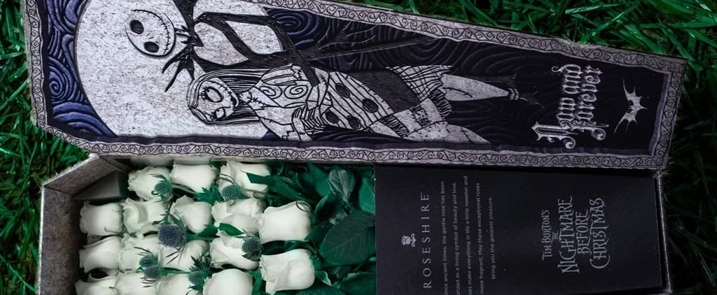 These Nightmare Before Christmas Flowers Come in a Coffin