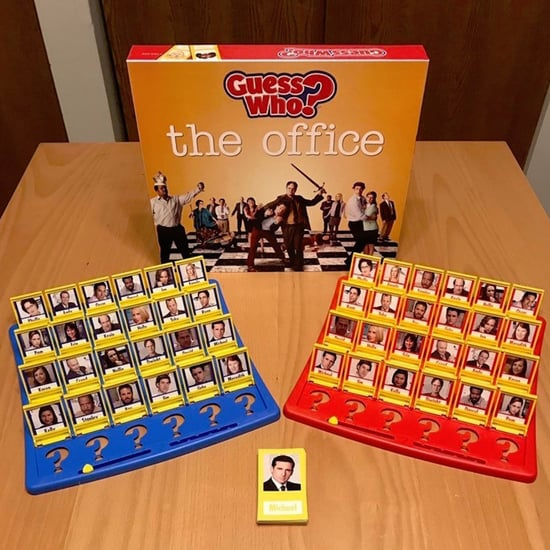 The Office Version of Guess Who? Board Game