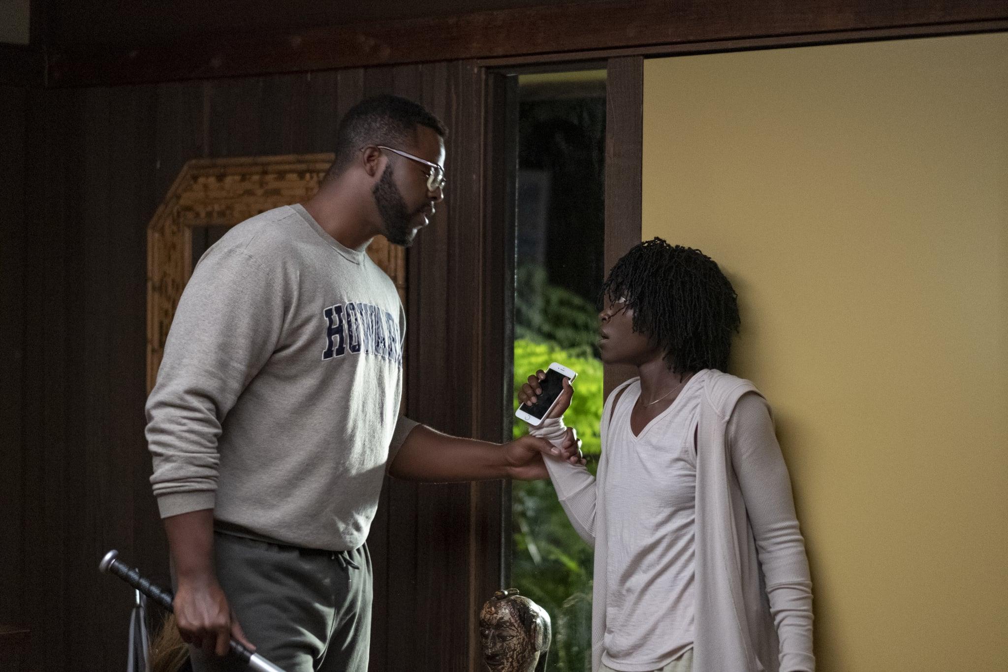 Gabe Wilson (Winston Duke) and Adelaide Wilson (Lupita Nyong'o) in
