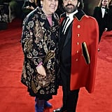 Suzy Menkes and Johnny Coca