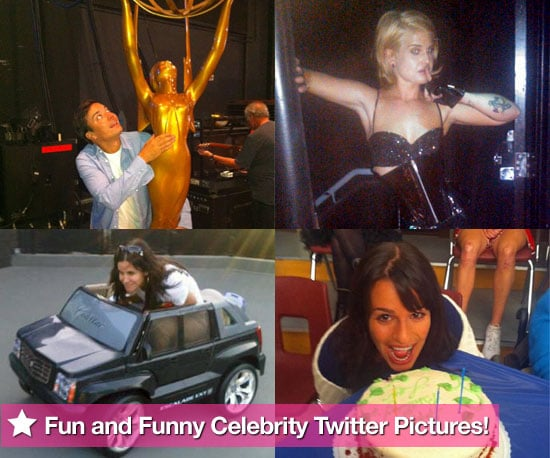 Fun and Funny Celebrity Twitter Pictures 2010-09-02 07:00:00