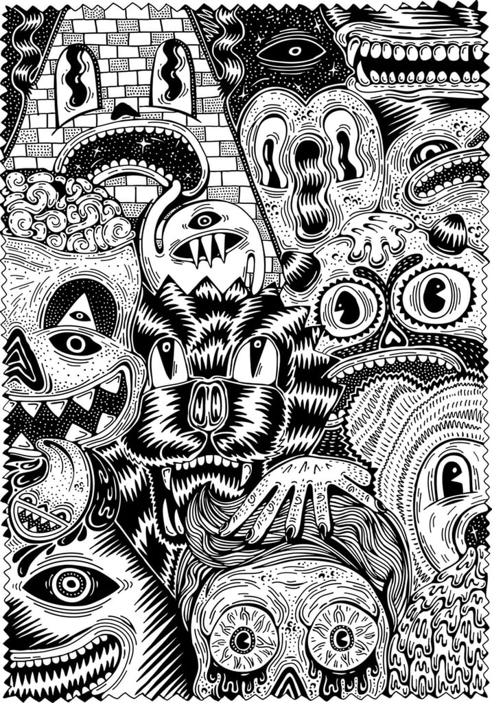 Medium Size Of Coloring Pages Halloween Mike Myers - Easy Michael ... | 1024x717