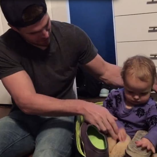 Stephen Amell's Facebook Video With His Daughter Mavi