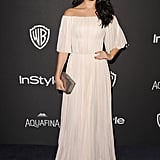 Selena Gomez at the InStyle Golden Globe Awards Party