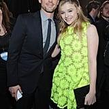 Matt Bomer and Chloë Moretz