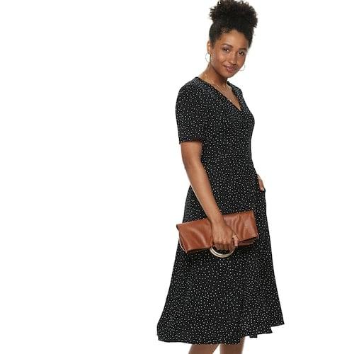 POPSUGAR Button-Up Midi Dress