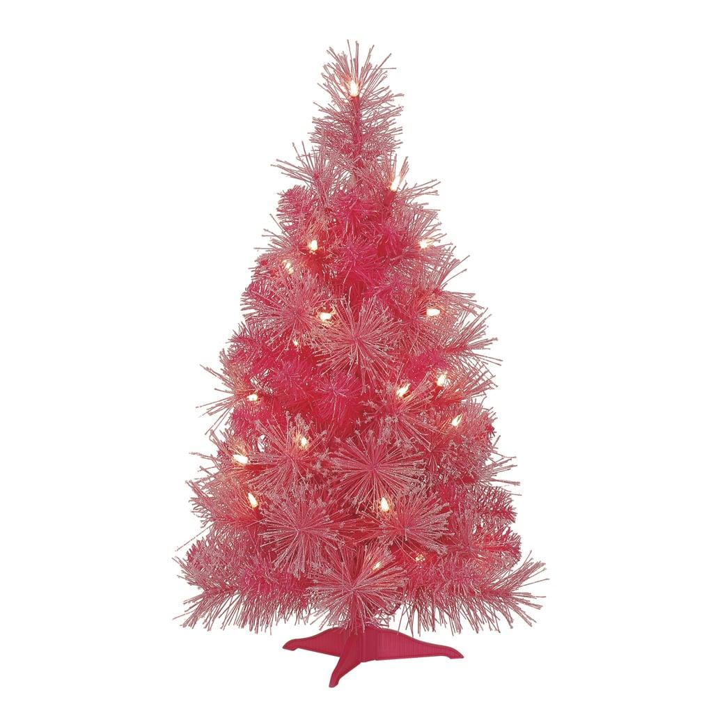 Mini Pink Christmas Tree   Small Christmas Trees Perfect ...