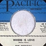 """Where Is Love"" by The Monzas"