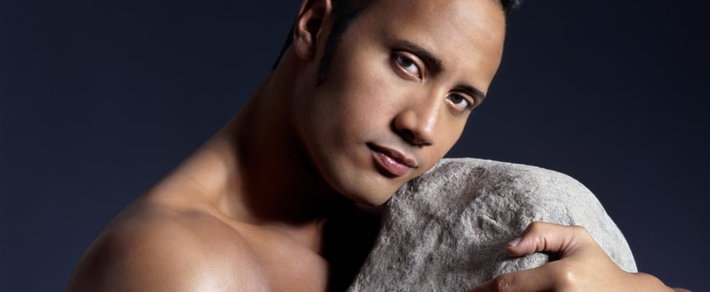 There Are Photos of The Rock Posing With a Rock Because the Internet Is a Beautiful Thing