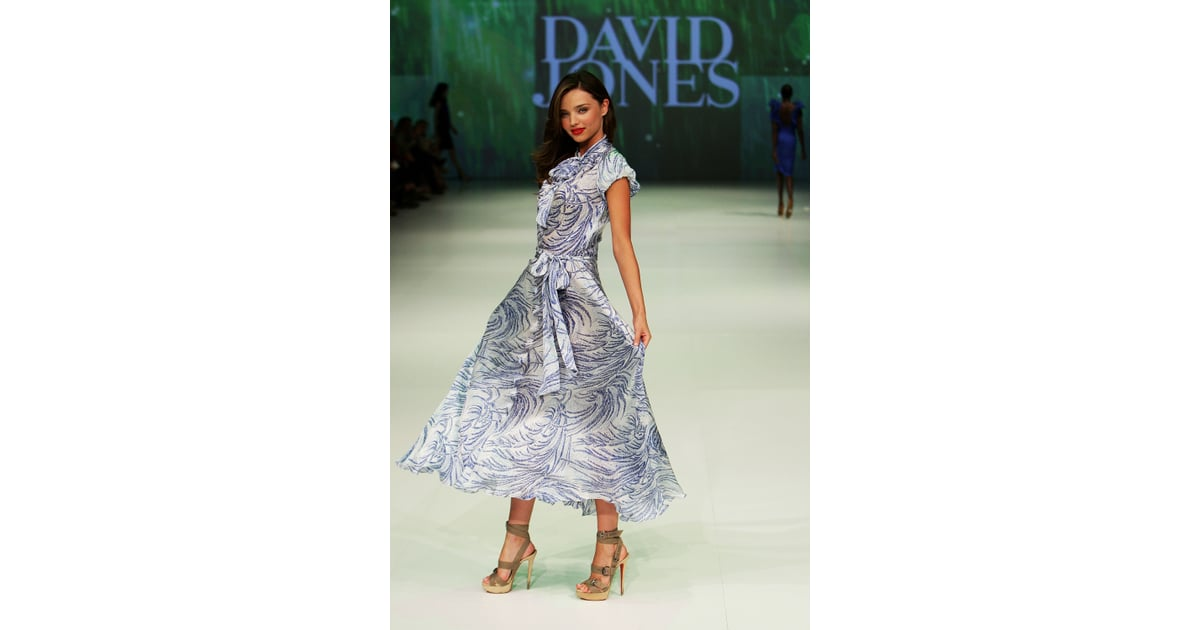 miranda kerr in a dress for david jones miranda kerr